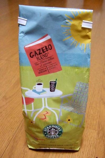 スタバ GAZEBO BLEND ガゼボーブレンド