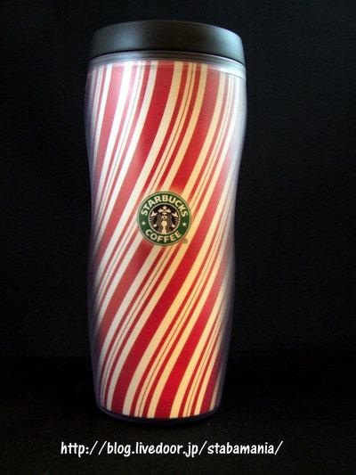 スターバックスコレクション クリスマスキャンディータンブラー2001