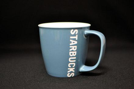 スタバコレクション ブルーマグカップ
