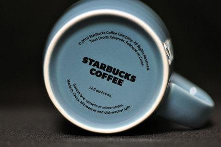 スターバックスコレクション ブルーマグカップ