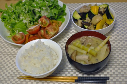 スタバ太郎 夕飯
