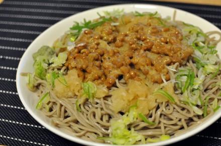 スタバ太郎 納豆おろし蕎麦